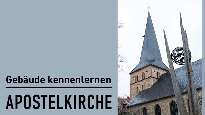 Gütersloher Gebäude: Apostelkirche im Video Portrait