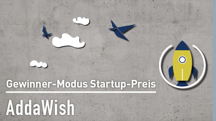 AddaWish beim Modus Consult Startup Wettbewerb