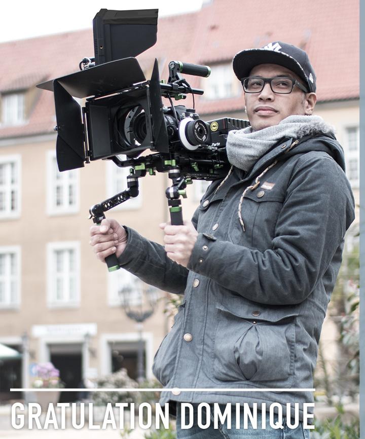 Dominique Osea macht den 2. Platz bei Kurzfilm-Festival