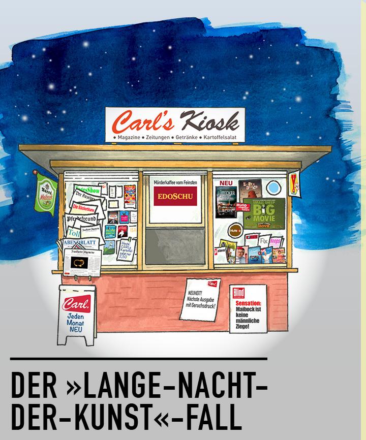 Hörbuch: Der Lange Nacht Der Kunst Fall