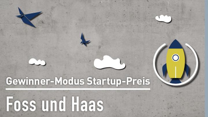 Foss und Haas beim Modus Startup Preis