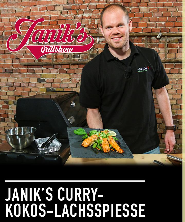 Neu: Janik's Grillshow bei Carl