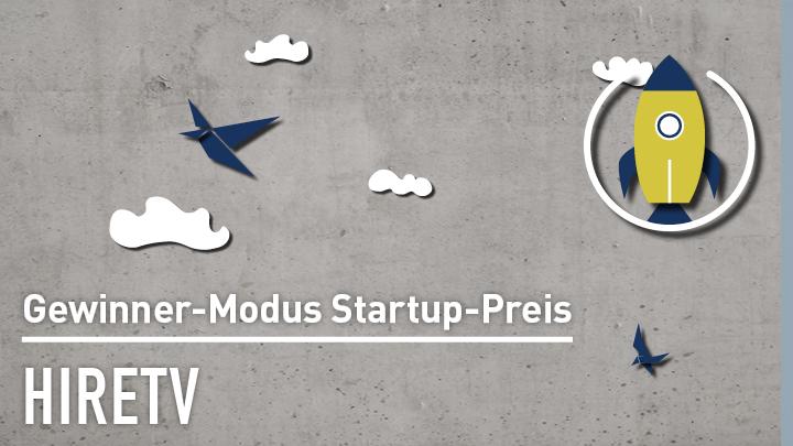 Modus Consult Startup Preis: hiretv im Video