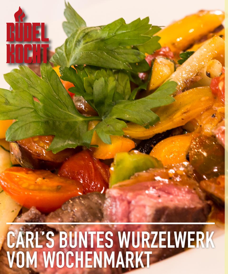 Büdel kocht: Carls buntes Gemüse