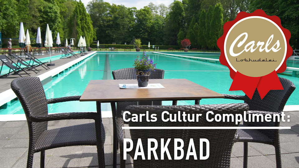 Carls Cultur Compliment an das Parkbad Gütersloh