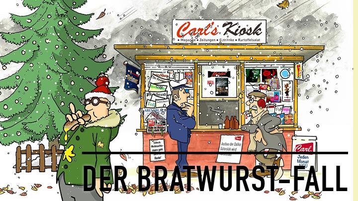 Gütersloher Krimi: Der Bratwurst-Fall als Hörbuch