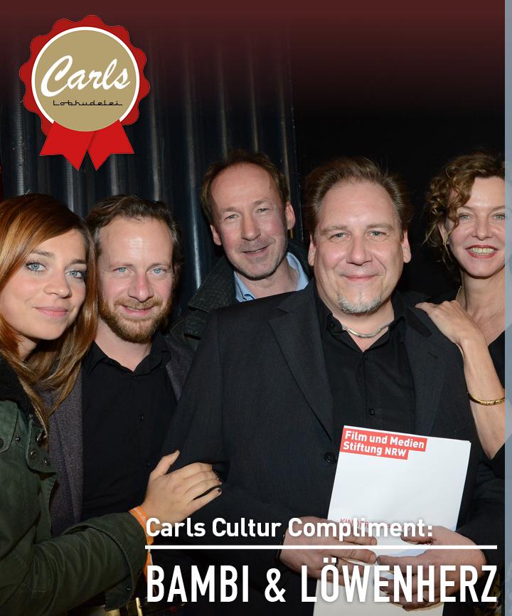 Carls Cultur Compliment an die Programmkinos bambi & Löwenherz