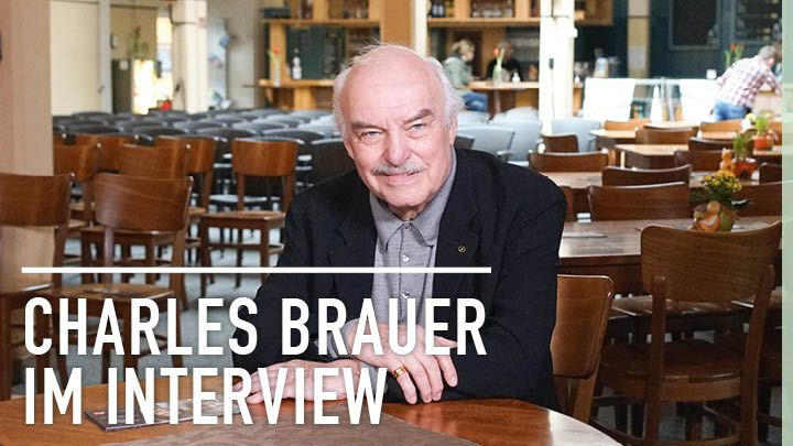 Charles Brauer im Interview in Gütersloh