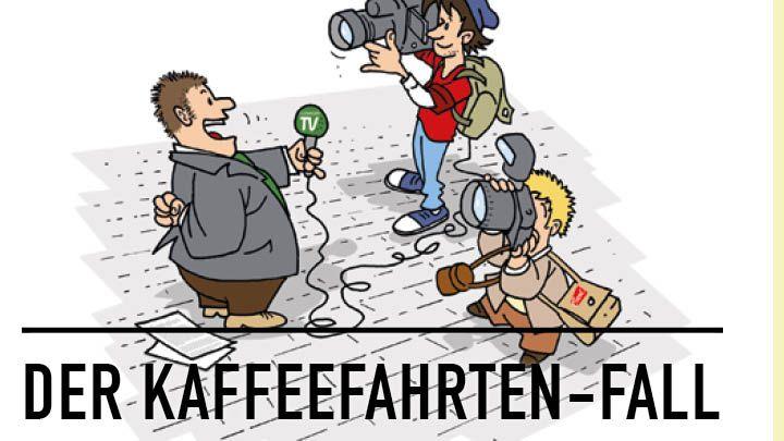 Stadtkrimi Hörbuch: Der Kaffeefahrten-Fall