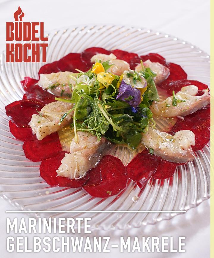 Büdel kocht im Video Marinierte Gelbschwanz-Makrele