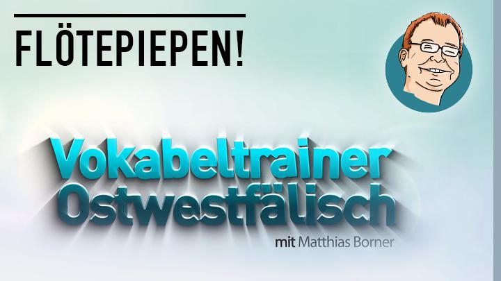 Matthias Borner erklärt Flötepiepen!