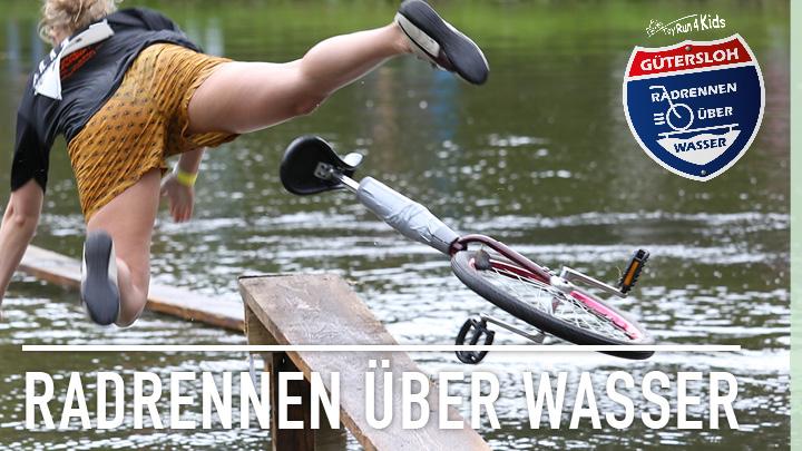 Radrennen über Wasser: Impressionen im Film
