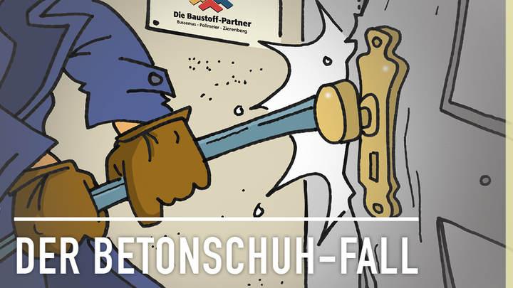 Krimi Hörbuch: Der Betonschuh-Fall